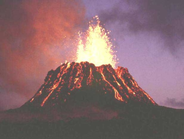 Volcanoes and Bacteria