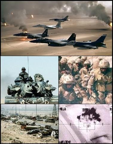 Comienza la Guerra del Golfo
