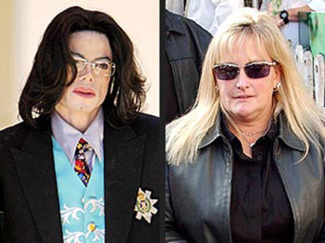 Debbie Rowe divorces him.