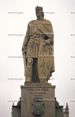 Sancho VII  (el Fuerte) Dinastía: Jimena (1194-1234)