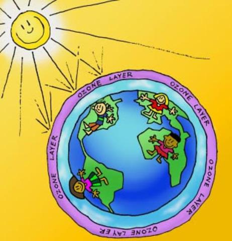 (1 Billion Years Ago) Formation of Ozone