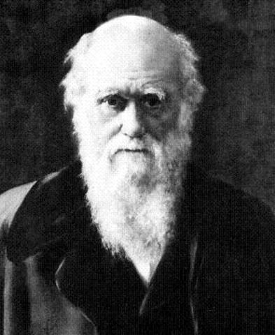 Charles Darwin; Born