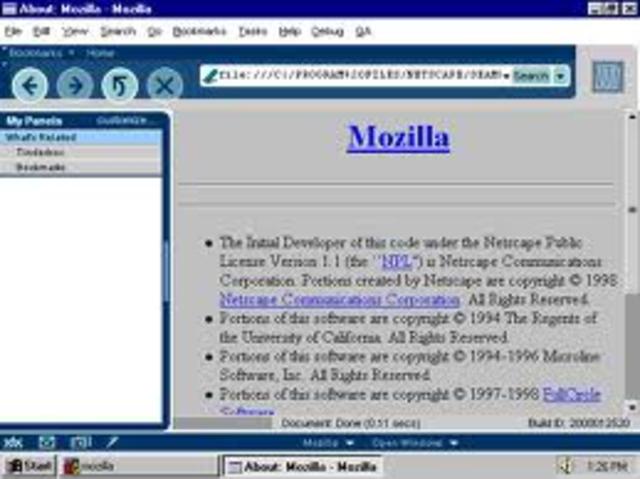 Mozilla M13