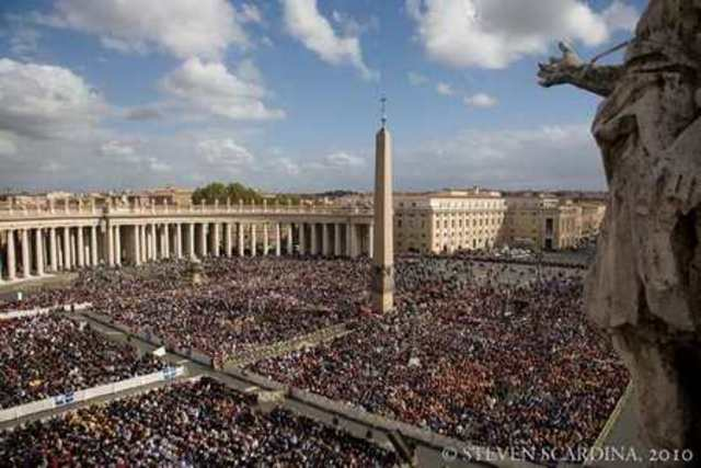 Canonized in the Catholic church