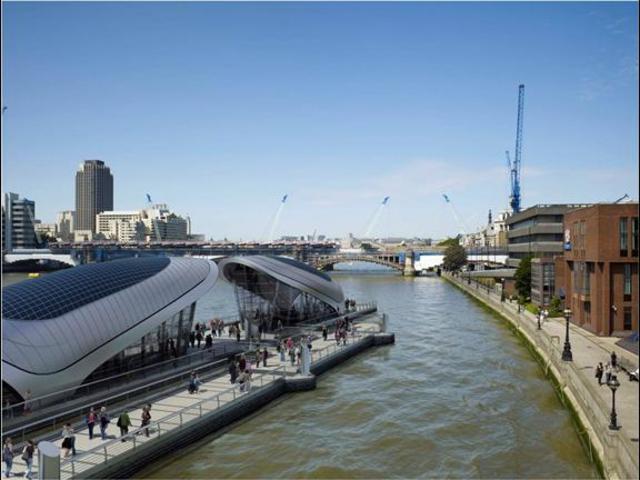 CABE and residents slam Gensler's Thames river park