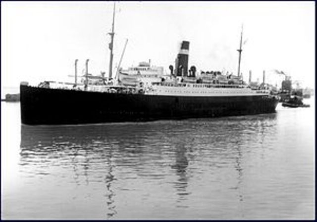 Battle of the Atlantic begins with the sinking of the SS Athenia by a German submarine