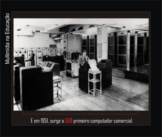 LEO o 1° computador produzido comercialmente