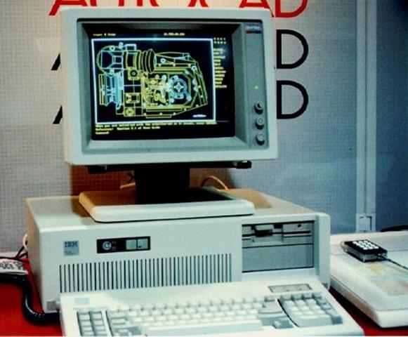 Primeiro AutoCAD - 1982