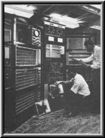 1951 a 1959 Computadores de primeira geração