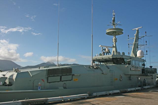 HMAS Cairns responsibilities.