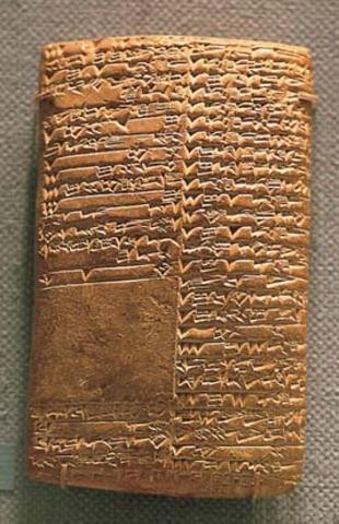 3200 a.C ESCRITURA BABILONIA