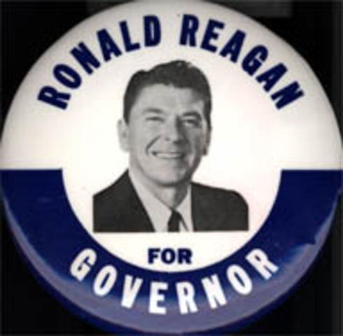 Reagan as Governor