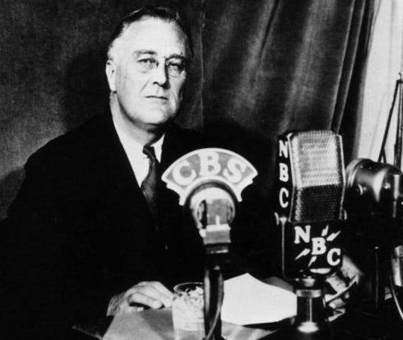 Franklin Delanor Roosevelt was inaugurated