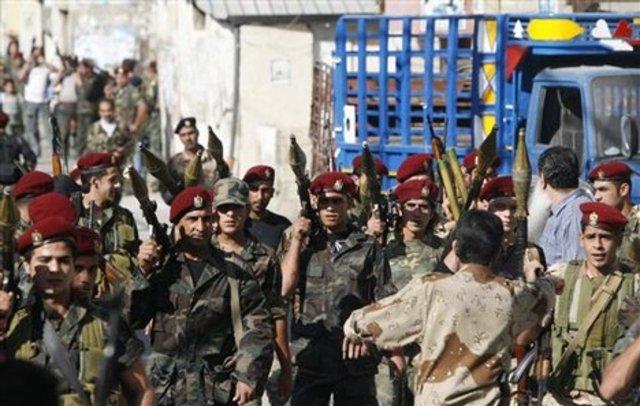 Palestine guerrillas enter Lebenon Civil War