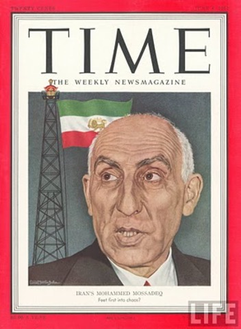 U.S.-backed coup ousts Mossadeq; reinstates shah