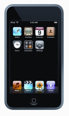 Apple unveils the iPod touch