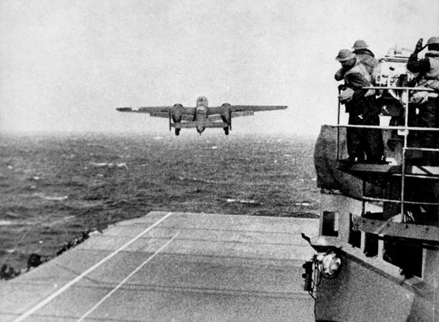 The Doolittle Raids take place