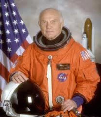 First U.S man to orbit the Earth
