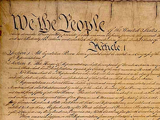 The US Constitution Favoring Socialism