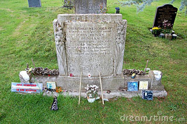 John Bonham: Death
