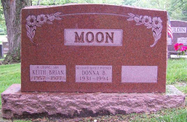 Keith Moon: Death