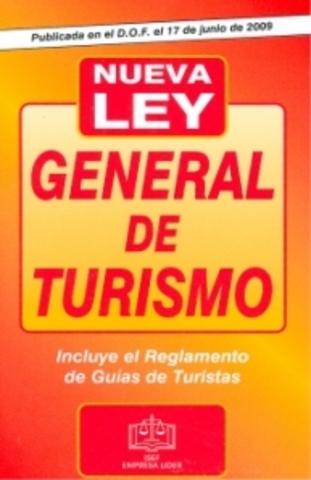 MEXICO. Ley General de Turismo