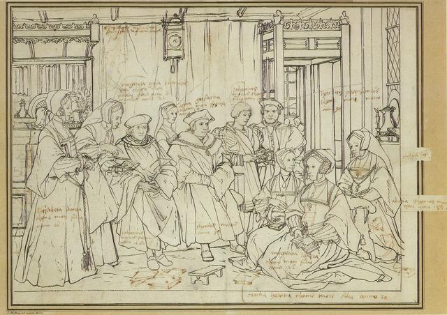 Saint Thomas More Studying Law