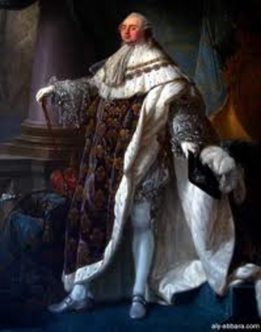 Luís XVI volta de Versalhes.