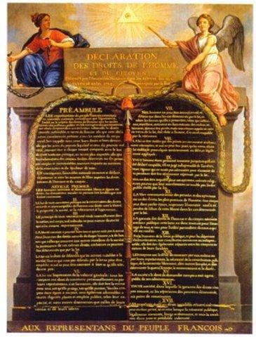 Declaração dos Direitos Humanos.