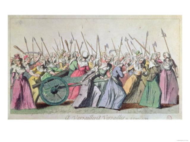 Luis XVI volta de Versalhes para Paris