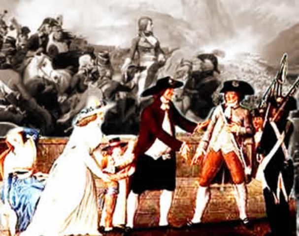 Prisão de Luís XVI.