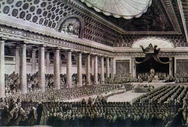 Os Estados Gerais autoproclamaram-se Assembleia Nacional Constituinte