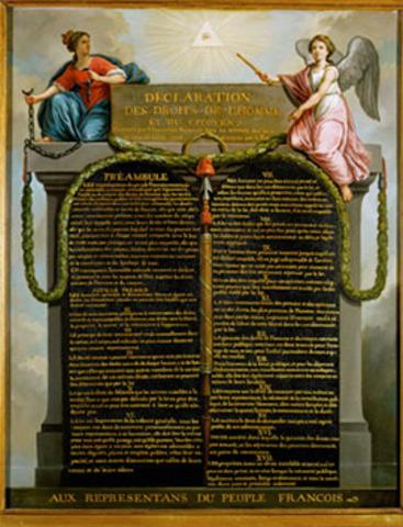 Proclamação da Declaração dos Direitos do Homem e do Cidadão