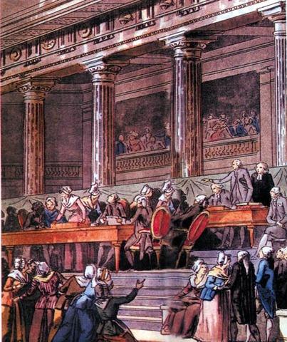 Proclamação da Assembleía Nacional Constituinte