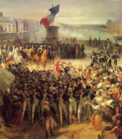 Guerra com Austria e Prússia