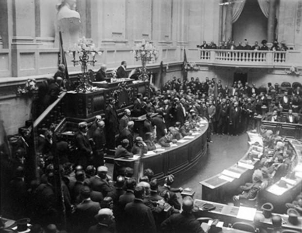 Proclamação da Assembléia Nacional