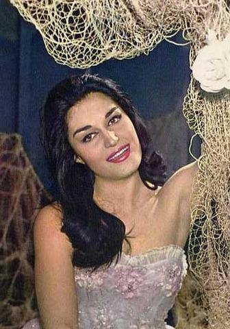 Photo taken in 1956 Ya en Paris probando suerte como actriz