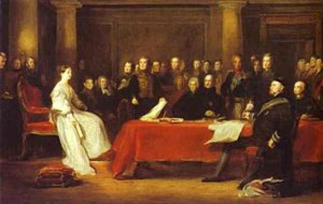 Becoming part of the Privy Council