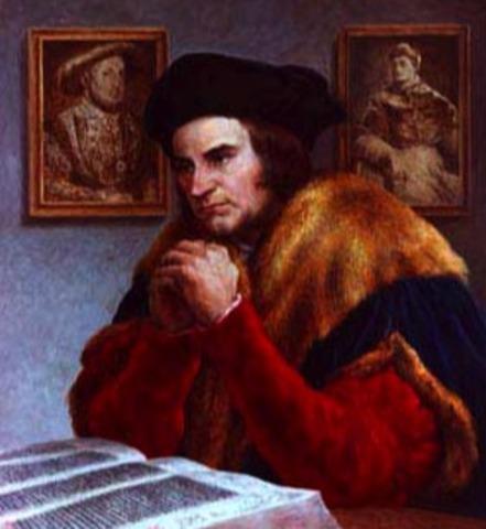 Thomas More speaking