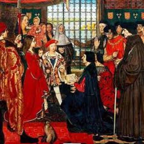 I was honourably knighted.