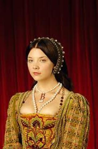 the coronation of anne boleyn.