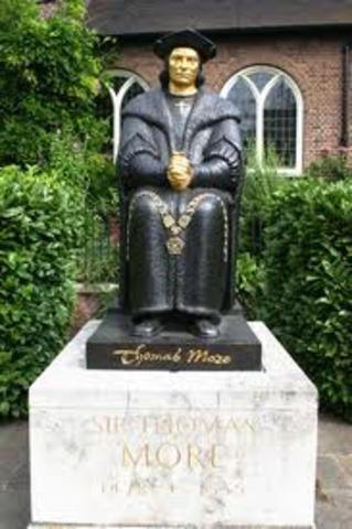 saint thomas more was beatified.