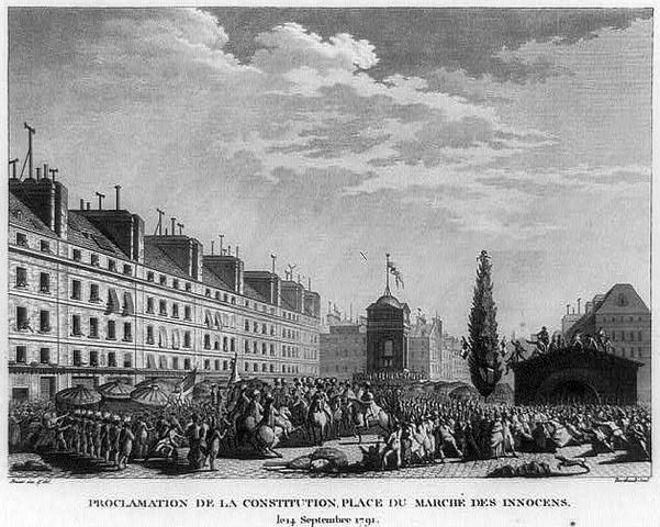 Promulgação da Constituição de 1791