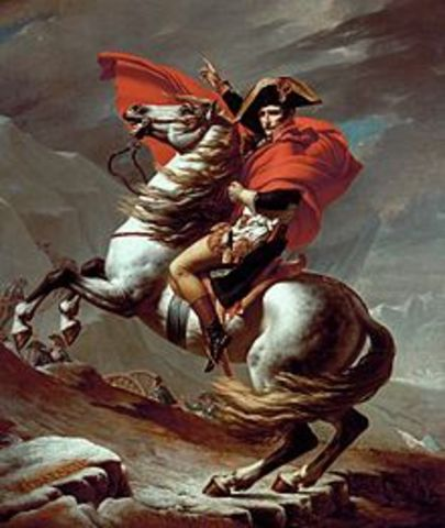 Vitória de Napoleão contra os austríacos na Itália