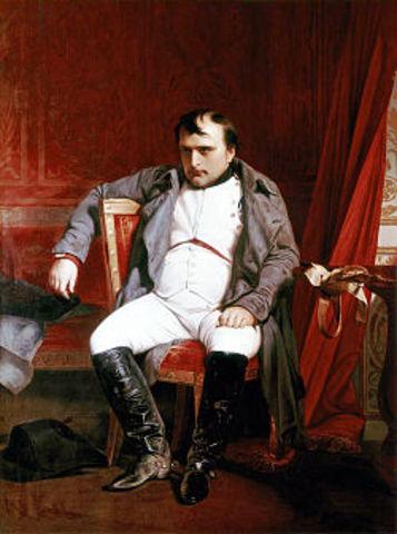 Napoleão dissolve a Assembleia