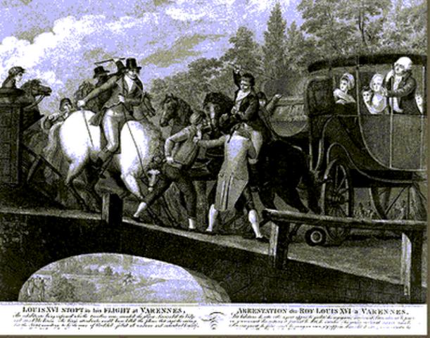 Fuga de Luis XVI para a Austria