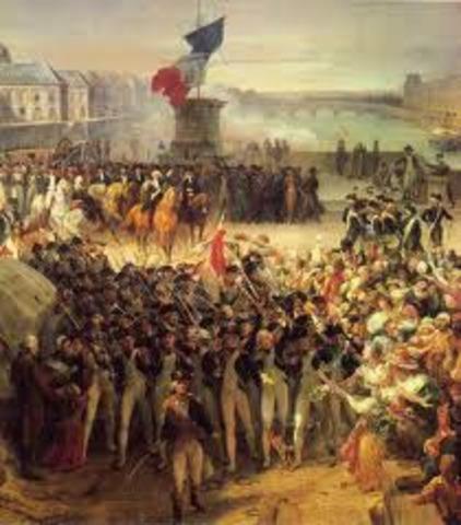 Fundação da primeira república francesa