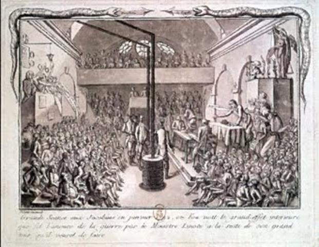 Vitória eleitoral dos jacobinos não tolerada pelos girondinos