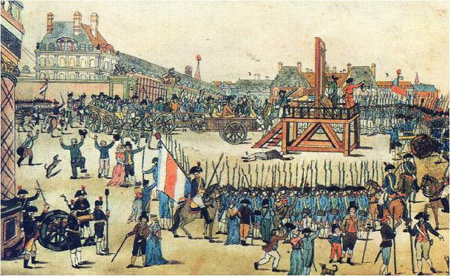 Morte de Sain-Just, Robespierre e compaheiros
