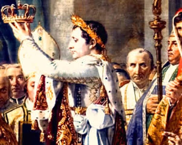 Napoleão lidera o golpe de estado